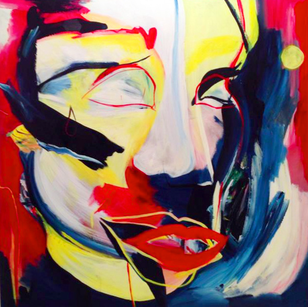 Malarkey, abstract figurative art, colour, daniela raytchev