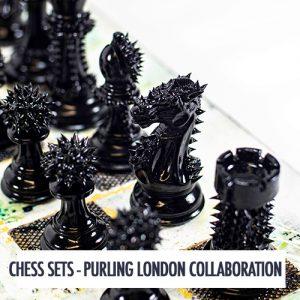 chess art artist board games luxury harrods purling london